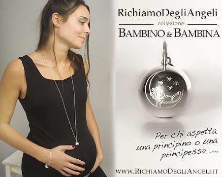 Richiamo degli Angeli ciondolo gravidanza originale